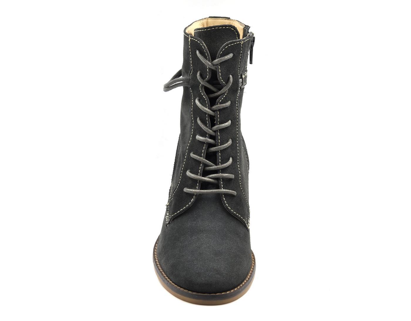 3025ed6f069 Γυναικείο μποτάκι 6115 γκρι σκούρο - tatogloushoes.gr