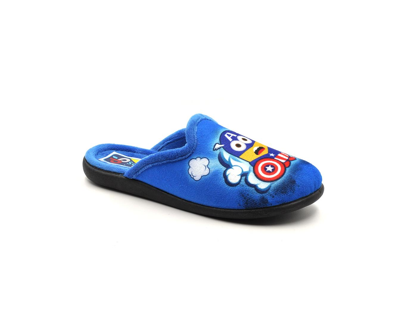 Παιδική παντόφλα 4300-473 μπλε - tatogloushoes.gr ef4a41bf24f