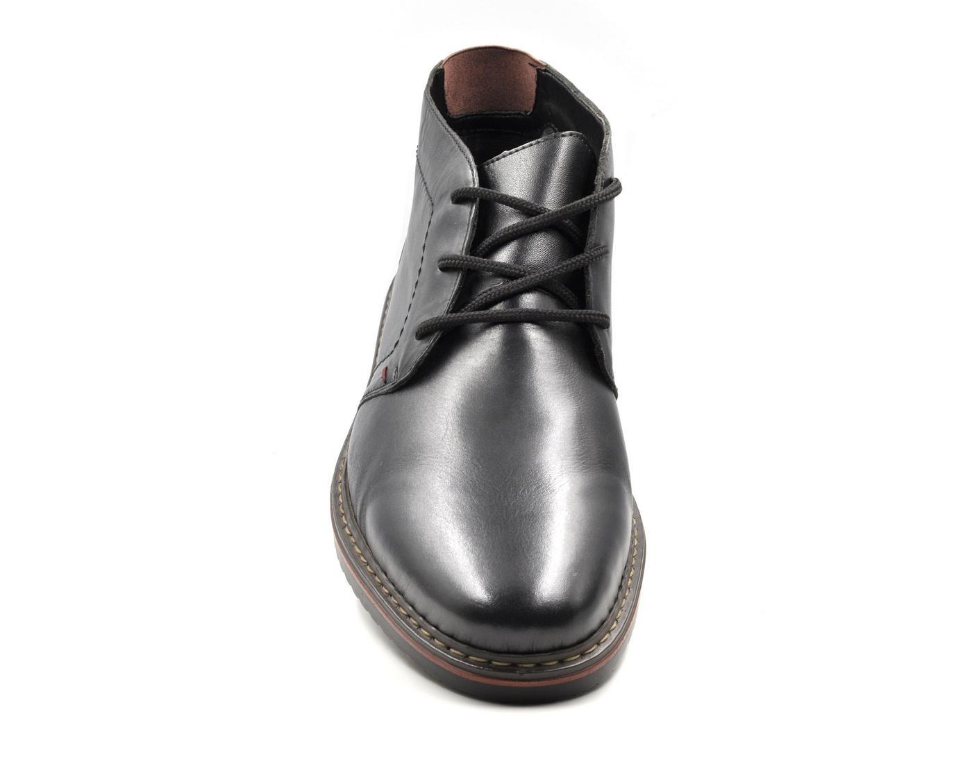 Ανδρικό μποτάκι μαύρο 30423 - tatogloushoes.gr 4ddecfa5468