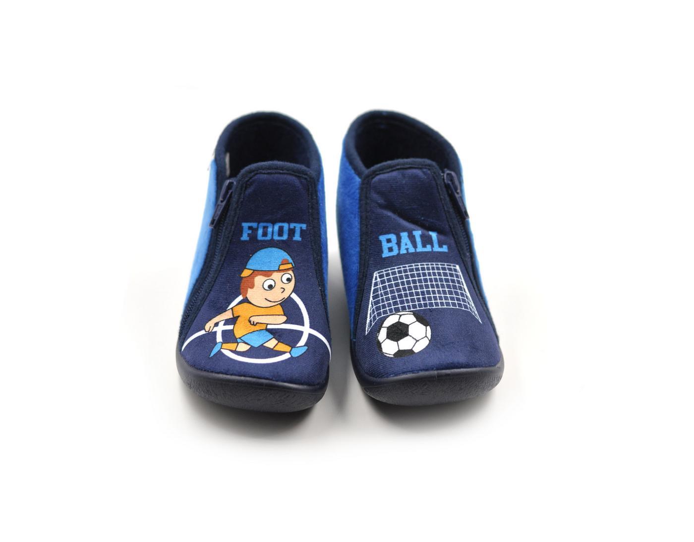 Παιδική ανατομική παντόφλα 6503 μπλε - tatogloushoes.gr e6546bf498a